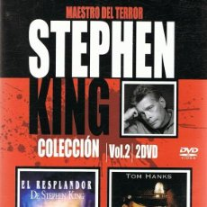 Cine: DVD STEPHEN KING VOL. 2 ¨EL RESPLANDOR & LA MILLA VERDE¨. Lote 100058063
