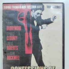 Cine: CONFESSION OF DANGEROUS MIND. Lote 100067874