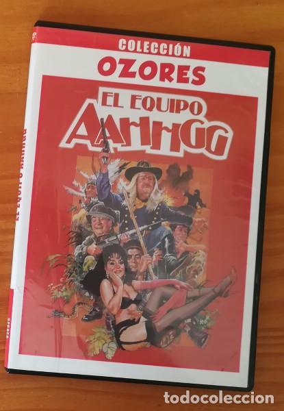 COLECCION OZORES, EL EQUIPO AAHHGG -DVD- ANTONIO OZORES, JUANITO NAVARRO, FEDRA LORENTE... SLIM CASE (Cine - Películas - DVD)