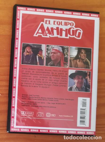 Cine: COLECCION OZORES, EL EQUIPO AAHHGG -DVD- ANTONIO OZORES, JUANITO NAVARRO, FEDRA LORENTE... SLIM CASE - Foto 2 - 108667430