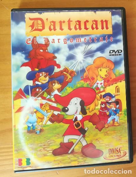 D'ARTACAN Y LOS TRES MOSQUEPERROS, EL LARGOMETRAJE -DVD- DARTACAN MOSQUETEROS DARTAGNAN ARTACAN... (Cine - Películas - DVD)