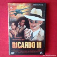 Cine: DVD RICARDO III, RICHARD LONCRAINE. IAN MCKELLEN ANNETTE BENNING ROBERT DOWNEY JR- DESCATALOGADISIMA. Lote 100369095