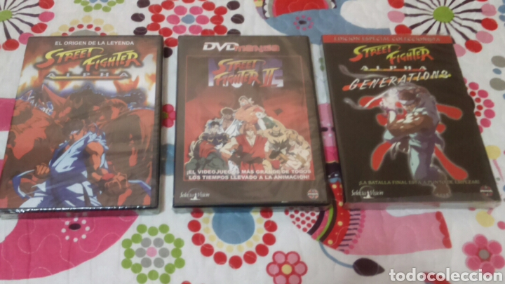 Dvd Trilogia Street Fighter Alpha Street Fight Sold Through