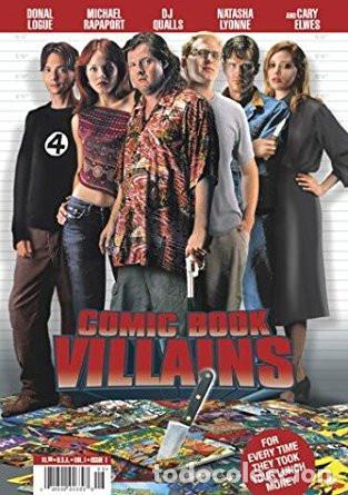 DVD COMIC BOOK VILLAINS (DVD USA) (Cine - Películas - DVD)