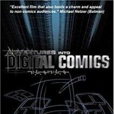 Cine: DVD ADVENTURES INTO DIGITAL COMICS (USA DVD). Lote 100427719