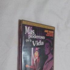 Cine: MÁS PODEROSO QUE LA VIDA. DVD EN BUEN ESTADO. CLÁSICO. Lote 100449639