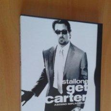 Cine: CINE DVD PELICULA GET CARTER,STALLONE. Lote 100572599