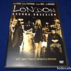 Cine: LONDON OSCURA OBSESION . DE SONY PICTURES 2006 DIRECTOR HUNTER RICHARDS. Lote 100574251
