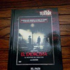Cine: CINE DE TERROR. EL EXORCISTA LIBRO-DVD. Lote 100574283