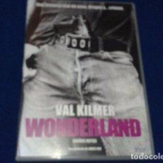 Cine: WONDERLAND SUEÑOS ROTOS VAL KILMER UNA PELICULA DE JAMES COX - FILMAX 2004. Lote 100574603