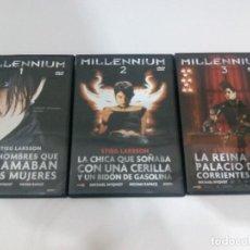 Cine: TRILOGÍA MILLENIUM DVD. Lote 100574679