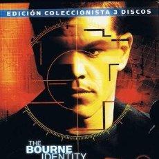 Cine: PACK BOURNE - EL CASO BOURNE - EL MITO DE BOURNE - LOS ARCHIVOS DE BOURNE - 3 DVDS. Lote 100575443