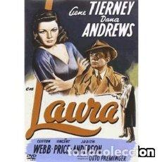 Cine: LAURA (DVD). Lote 100690943