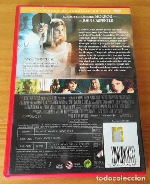 Cine: TERROR EN LA NIEBLA -DVD- THE FOG, TOM WELLING, MAGGIE GRACE, SELMA BLAIR, RUPERT WAINWRIGHT - Foto 2 - 101123343