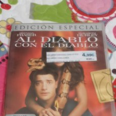 Cine: DVD. AL DIABLO CON EL DIABLO. ED. ESPECIAL.. Lote 101198672