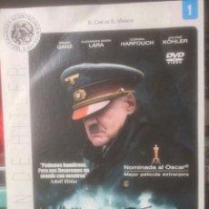 Cine: EL HUNDIMIENTO (DOWNFALL) - DVD COLECCION EL CINE DE EL MUNDO. Lote 101240555