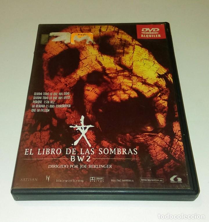 DVD EL LIBRO DE LAS SOMBRAS BW2 (Cine - Películas - DVD)
