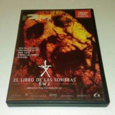 Cine: DVD EL LIBRO DE LAS SOMBRAS BW2. Lote 101308519