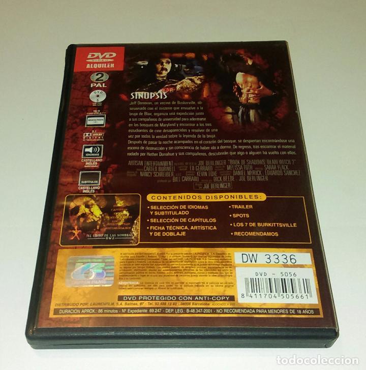 Cine: DVD EL LIBRO DE LAS SOMBRAS BW2 - Foto 2 - 101308519