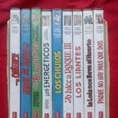 Cine: 9 DVD COLECCION COMPLETA PAJARES ESTESO OZORES ESTUCHE ENVÍO 5€* IMAG REST AUDIOCOMENTARIOS ENTREVIS. Lote 101345083