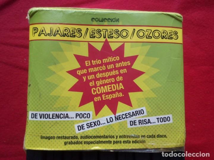Cine: 9 DVD COLECCION COMPLETA PAJARES ESTESO OZORES ESTUCHE ENVÍO 5€* IMAG REST AUDIOCOMENTARIOS ENTREVIS - Foto 5 - 101345083