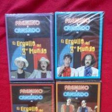 Cine: 4 DVD FAEMINO Y CANSADO EL ORGULLO DEL TERCER MUNDO PRECINTADOS COMPLETO 450 GRS . Lote 101345467