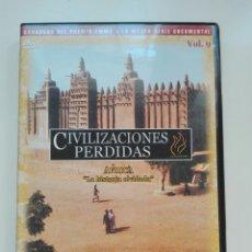 Cine: ÁFRICA LA HISTORIA OLVIDADA. Lote 101364659
