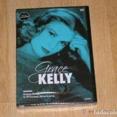 Cine: GRACE KELLY LA PRINCESA AMERICANA DVD MITOS DE HOLLYWOOD NUEVA PRECINTADA. Lote 134351313