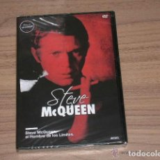Cine: STEVE MCQUEEN EL HOMBRE DE LOS LIMITES DVD MITOS DE HOLLYWOOD NUEVA PRECINTADA. Lote 134351305