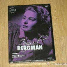 Cine: INGRID BERGMAN LA MAS BELLA DVD MITOS DE HOLLYWOOD NUEVA PRECINTADA. Lote 134351238
