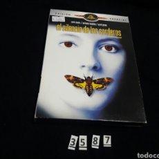 Cine: EL SILENCIO DE LOS CORDEROS ( DVD SEGUNDAMANO ). Lote 101415460