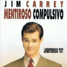Cine: DVD MENTIROSO COMPULSIVO JIM CARREY . Lote 101429555