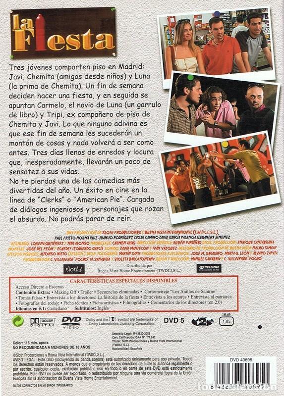 Cine: DVD LA FIESTA - Foto 2 - 101430043