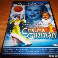 Cine: CRISTINA GUZMAN DVD DEL AÑO 2006 ROCIO DURCAL ARTURO FERNANDEZ ISABEL GARCES RAFAELA APARICIO. Lote 101486403