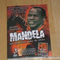 Cine: MANDELA EDICION ESPECIAL 3 DVD DANNY GLOVER NUEVA PRECINTADA. Lote 235176040
