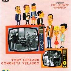 Cine: DVD HISTORIAS DE LA TELEVISIÓN TONY LEBLANC . Lote 101605275