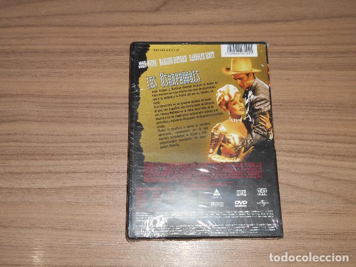 Cine: Los USURPADORES DVD Marlene Dietrich JOHN WAYNE Randolph Scott NUEVA PRECINTADA - Foto 2 - 210001283