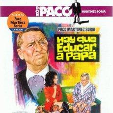 Cine: DVD HAY QUE EDUCAR A PAPÁ PACO MARTINEZ SORIA . Lote 101615295