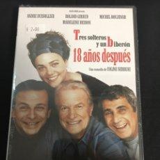 Cinéma: TRES SOLTEROS Y UN BIBERÓN 18 AÑOS DESPUÉS ( DVD NUEVO PRECINTADO ). Lote 111082956