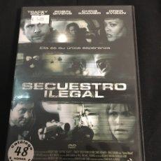 Cine: SECUESTRO ILEGAL ( DVD PROCEDENTE DE VIDEOCLUB ). Lote 101929948