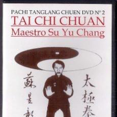 Cine: MAESTRO SU YU CHANG : DVD-R TAI CHI CHUAN - PACHI TANGLANG CHUEN VOL.2 - PALMA DE MALLORCA. Lote 105893546
