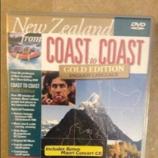 Cine: NEW ZEALAND FROM COAST TO COAST. GOLD EDITION (ENGLISH LANGUAGE VERSION) DVD. Lote 101996203
