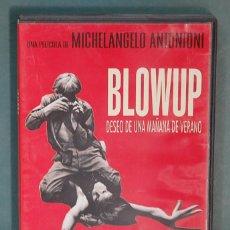 Cine: BLOWUP, DESEO DE UNA MAÑANA DE VERANO. MICHELANGELO ANTONIONI. DVD. Lote 102013763