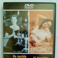 Cine: HA NACIDO UNA ESTRELLA + EL FORAJIDO- (COMO NUEVO). Lote 102074747