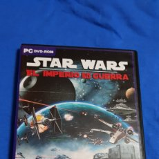 Cine: STAR WARS - EL IMPERIO EN GUERRA - PC DVD ROM MUY RARO. Lote 102099640