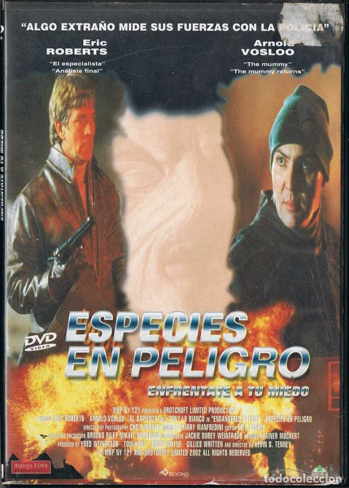 ESPECIES EN PELIGRO. ENFRÉNTATE A TU MIEDO (Cine - Películas - DVD)