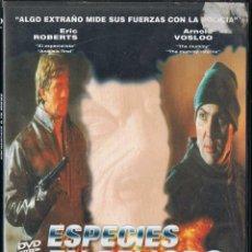 Cine: ESPECIES EN PELIGRO. ENFRÉNTATE A TU MIEDO. Lote 102406775