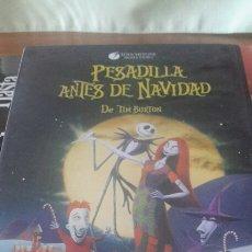 Cinéma: PESADILLA ANTES DE NAVIDAD. DVD. TIM BURTON. Lote 102487446
