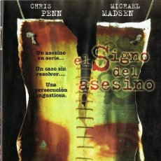 Cine: DVD EL SIGNO DEL ASESINO CHRIS PENN. Lote 102585503