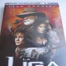 Cine: CINE DVD: LA LIGA DE LOS HOMBRES EXTRAORDINARIOS - EDICION COLECCIONISTA - 2 DVD´S *IMPECABLE*. Lote 102604299